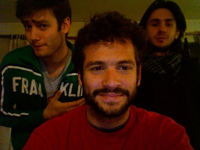 Stan, eu e Mathieu.